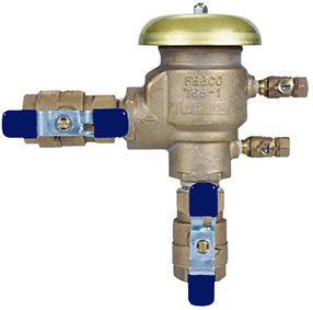 sprinkler backflow prevention devices